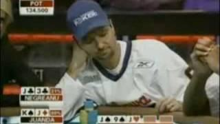 View On Poker - Daniel Negreanu Makes A Great Laydown As He Throws Away Three Of A Kind Jacks!