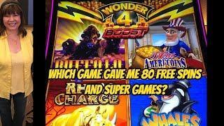80 FREE GAMES ON WONDER 4 BOOST