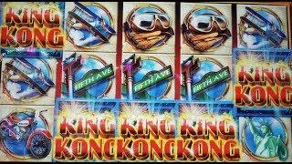 **King Kong** ()Ainsworth() LIve PLay 5 symbol ¿curse? trigger!! BIG WIN FREE SPINS