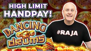 ★ Slots ★ Dancing Drums HIGH-LIMIT Handpay ★ Slots ★ + Other Wins Too!