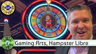 Hamster Libre slot machine preview, Gaming Arts, #G2E2019