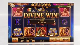 Age of the Gods Online Slot from Playtech - Bonus Feature & Free Games!