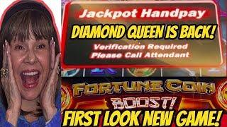 JACKPOT HANDPAY ON BESTIE & NEW GAME FORTUNE COIN BOOST