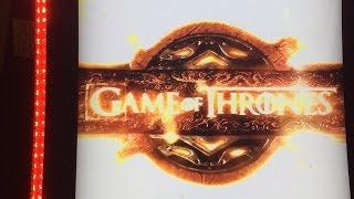 Game of Thrones Slot - Max Bet Bonus and Feature - Aristocrat