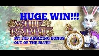 WHITE RABBIT (BIG TIME GAMING) HUGE EXCITING WIN AGAIN!! WILL IT SMASH 1000 X & BE 3RD TIME LUCKY?