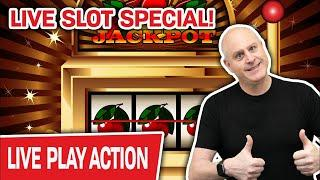 ⋆ Slots ⋆ Live Slot Special from Las Vegas!