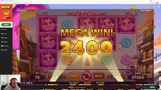 Monster Slot Bonus Session (Scruffy Duck, Wild West, Koi Princess) Big Wins • Craig's Slot Sessions