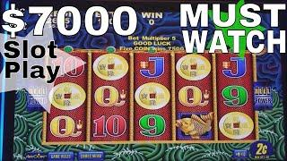 NG SLOT vs SAN MANUEL CASINO ! $7000 Live Slot Play | Last Visit To SAN MANUEL | Part 1 | MUST SEE!!