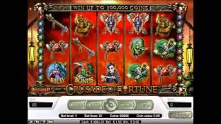 Crusade of Fortune slot by NetEnt - Gameplay