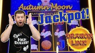 ⋆ Slots ⋆ Giant Orb Drops Down In Autumn Moon ⋆ Slots ⋆ Big Dragon Link Jackpot in Las Vegas