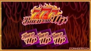 • BURN 'EM UP •, Super Star Turns • & Legend of Jaguar Slot Play •