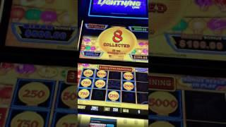 $25 Max Bet Lightning Link Slot Machine Hand Pay Jackpot! Happy Lantern Big Win!