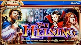 BIG WINNING on VAN HELSING + WILD SHOOTOUT + LIL RED SLOT POKIE BONUSES - PECHANGA