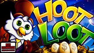 WMS  Hoot Loot - LINE HIT - Max Bet