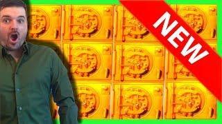 FIRST TO YOUTUBE! BISON BUCKS Slot Machine! BIG WINS AT DAKOTA MAGIC Casino W/ SDGuy1234