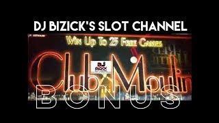 ~* FREE SPIN BONUS *~ Club Moulin Slot Machine ~ OLD SCHOOL THROWBACK! • DJ BIZICK'S SLOT CHANNEL