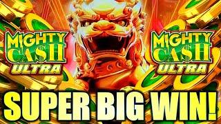 ⋆ Slots ⋆SUPER BIG WIN!! GOT THE ULTRA FEATURE!⋆ Slots ⋆ LION CHARGE MIGHTY CASH ULTRA Slot Machine