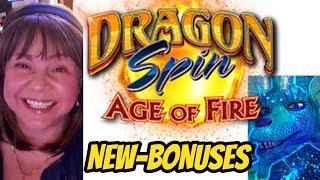 NEW! DRAGON SPIN AGE OF FIRE-BONUSES