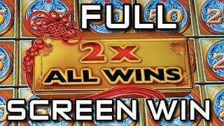 FULL SCREEN WIN!!!  MIGHTY CASH Slot Machine FILL IT UP!