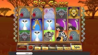 Big game• free slots machine by Saucify preview at Slotozilla.com