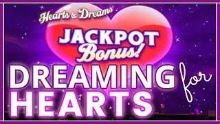 • Dreaming for HEARTS • ++BONUSES•MAX BET SLOTS • Slot Machine Pokies w Brian Christopher