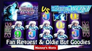 (Fan Request/Oldie but Goodie Eps:6) Timber Wolf vs Timber Wolf Deluxe by Aristocrat 3 Bonuses, More