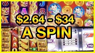 • Trees, •  Drums and • Fire Crackers • $2.64 to $34/Spin • Slot Fruit Machine Pokies w Brian C