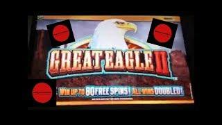 WILD FURY ~ GOLD BONANZA ~ GREAT EAGLE 2 ~ Nice Line Hit ~ Live Slot Play @ San Manuel