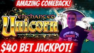 High Limit Enchanted Unicorn Slot Machine HANDPAY JACKPOT ! High Limit Cleopatra 2 Slot Bonus & More
