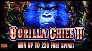 WMS Gaming: X-Reels - Gorilla Chief II Slot Bonus
