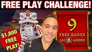 ⋆ Slots ⋆$1800 Free Play CHALLENGE @ Cosmo Las Vegas!!! | Mighty Cash, Fire Link and Lightning Link!