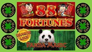 88 Fortunes Slot High Limit | Dragon Link Panda Magic | Ryan Plays Slots