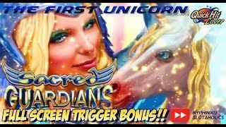 ARISTOCRAT - Sacred Guardians The First Unicorn Slot Bonus BIG WIN