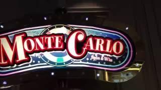 Monte Carlo SPIN & WIN **1-of-2** •LIVE PLAY• Slot Machine at Flamingo, Las Vegas