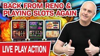 ★ Slots ★ I. CAN'T. STOP. LIVE. GAMBLING. ★ Slots ★ Just Back from Reno & PLAYING SLOTS AGAIN