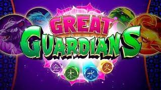 Great Guardians Slot - NICE SESSION, ALL FEATURES!