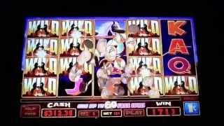 "***BIG WIN*** ""STALLION SPIRIT"" Slot Machine. Bonus - Line hits"