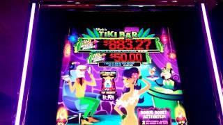 Tiki Bar - **HUGE WIN**  - Major Progressive