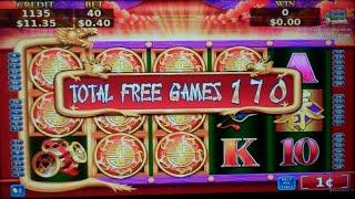 Flying Fortune Slot Machine Bonus - 190 FREE SPINS - BIG WIN (#4)