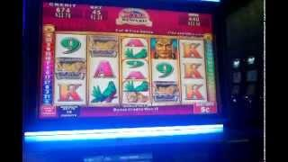 Konami Mayan Chief slot machine Nickel Denom Free spin bonus