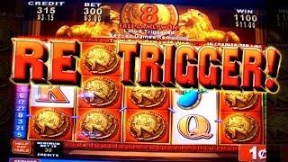 Roman Tribune LOTS OF SPINS&Big Win! - 1c Konami Video Slots