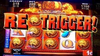 Roman Tribune LOTS OF SPINS&Big Win! - 1c Konami Video Slots