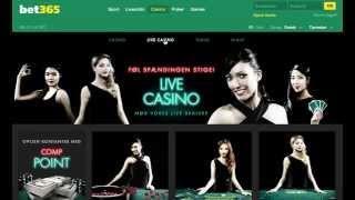 bet365 reklame: Casino spil, slots, live dealers og bonusser
