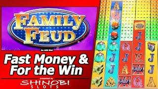 Family Feud Slot - Fast Money, For The Win Bonuses and Random Features