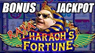 8 FREE GAMES • BONUS ROUND JACKPOT! • Pharaoh's Fortune Slot Machine | The Big Jackpot