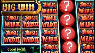 •FLASHBACK FRIDAY!• JUNGLE WILD II MONEY BURST & MORE BIG WINS! Slot Machine Bonus Wins