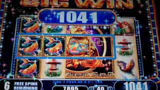 Princess Sakura Slot Machine Bonus - 8 Free Games with Expanding Wilds + Multipliers - Nice Win