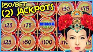 HIGH LIMIT Dragon Link Autumn Moon & Golden Century (2) HANDPAY JACKPOTS  ⋆ Slots ⋆$50 Bonus Round S