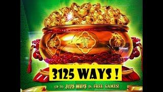 •WOW ! 3,125 WAYS !! BIG WIN !!•BA FANG JIN BAO Slot (KONAMI) NEW GAME•彡San Manuel 栗スロ
