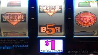 Slots Weekly Highlights #52 For you who are busy• Triple Strike $1 Slot@San Manuel, Pechanga, Barona